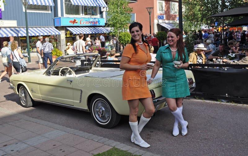 Classic Car Parade Editorial Photo