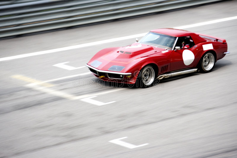 Classic Car Race royalty free stock photography