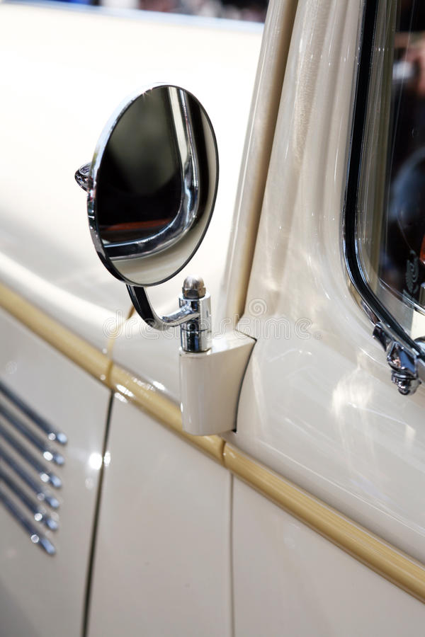 Download Classic Car Rear View Mirror Royalty Free Stock Images - Image: 11845489