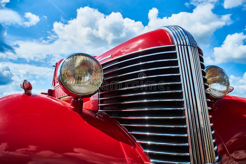 Classic car from the 1930s royalty free stock photo