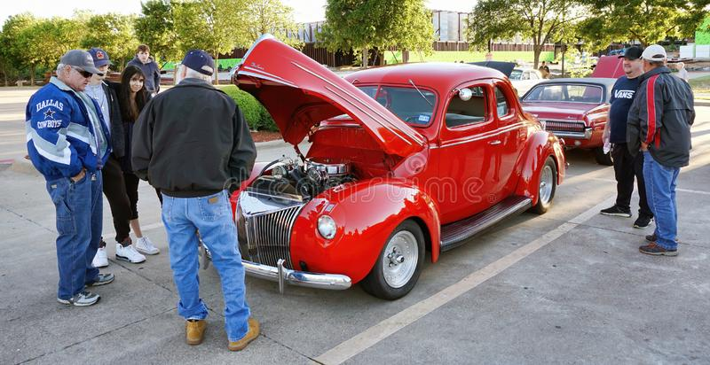 Classic Car Show royalty free stock photo