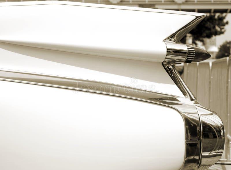 Classic Car Tail Fin Royalty Free Stock Photos