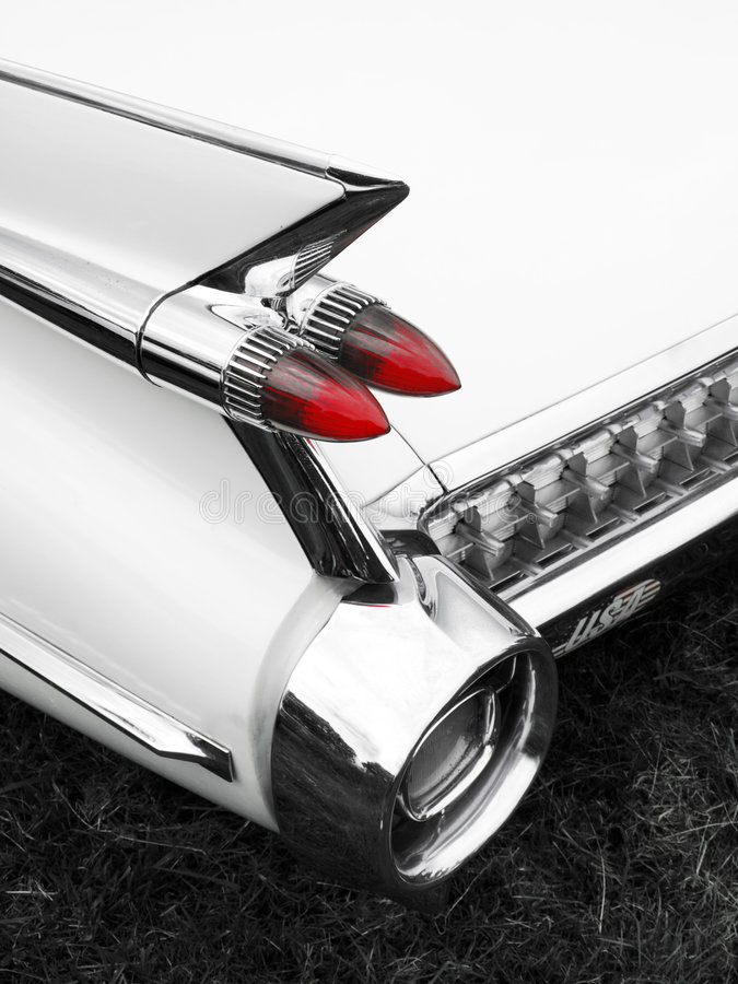 Free Classic Car Tail Fin And Light Detail Stock Image - 5682071