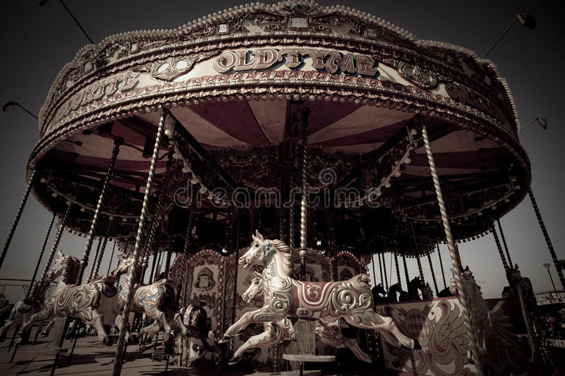 Download Classic carrousel stock image. Image of merry, round - 22777665