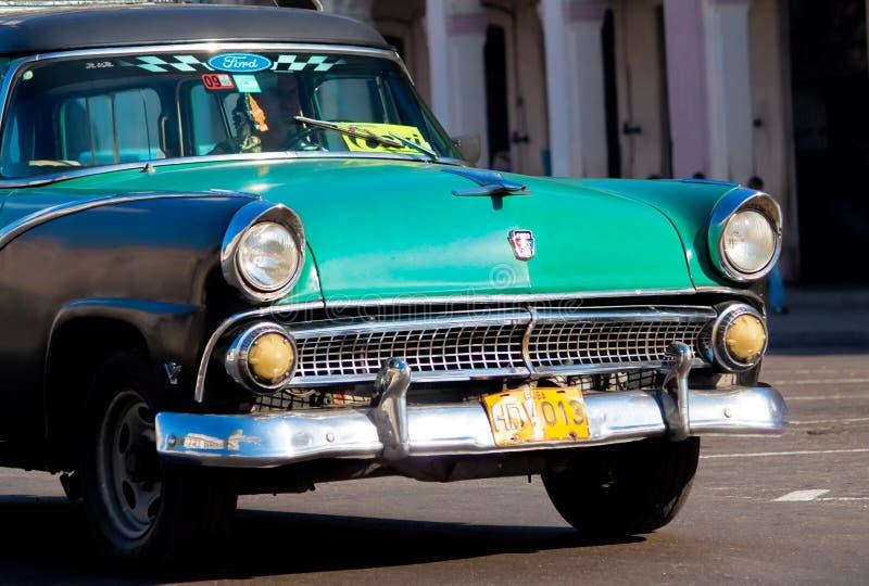 Classic cars in Havana stock photo