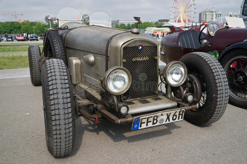 Classic cars at Munich spring festival stock photo