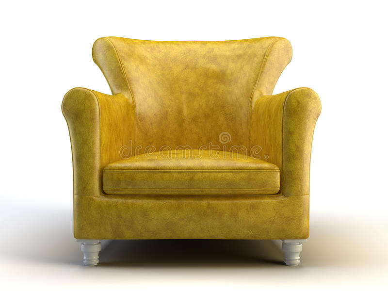 Download Classic chair stock illustration. Image of postmodern - 10732818