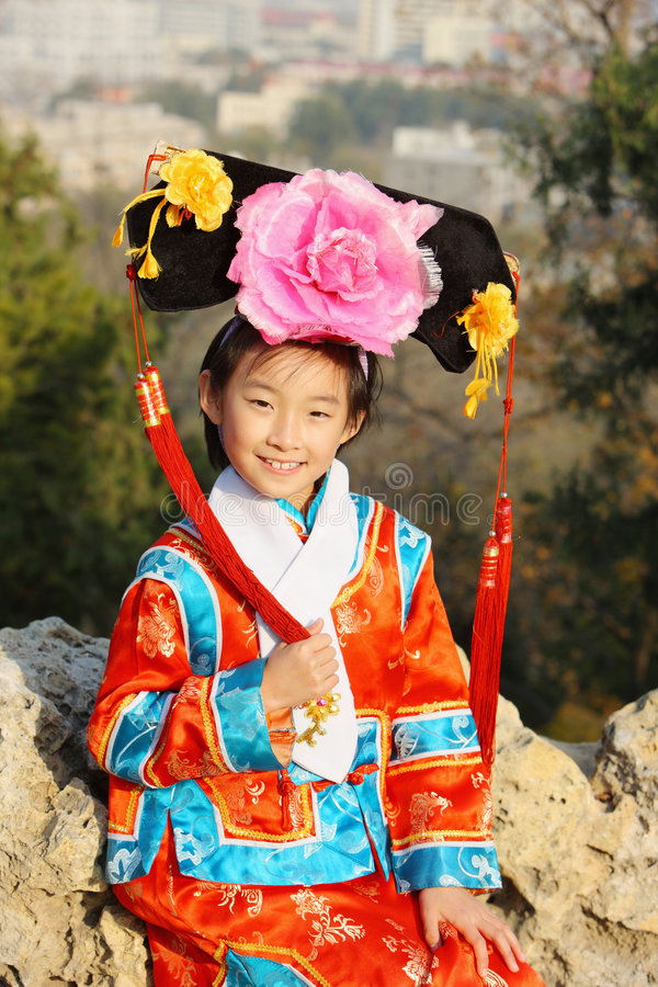 classic chinese child stock photography