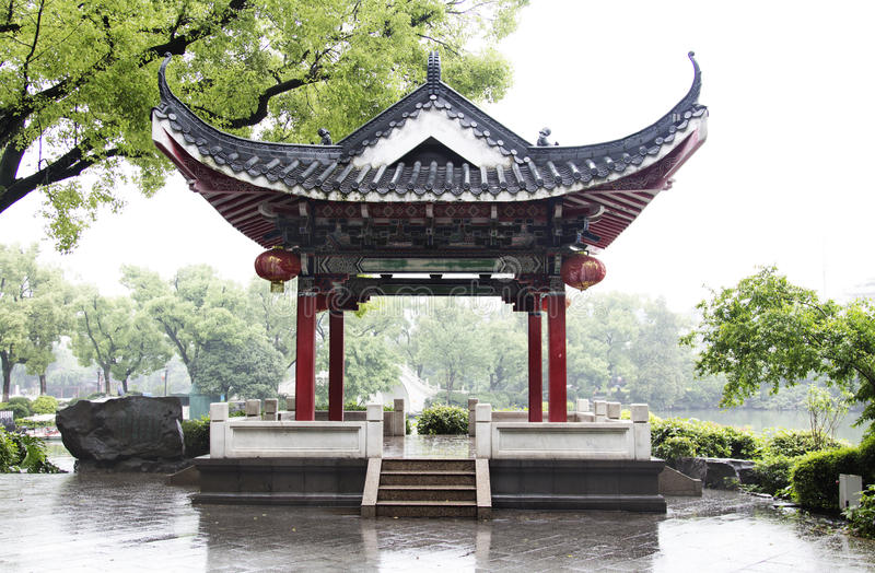 Classic Chinese Pavilion in Guilin royalty free stock photo