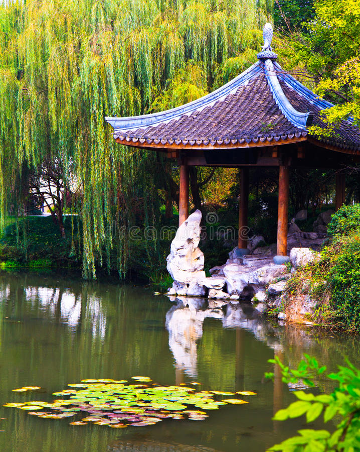 Download Classic Chinese Pavilion, Hangzhou Royalty Free Stock Images - Image: 22071539