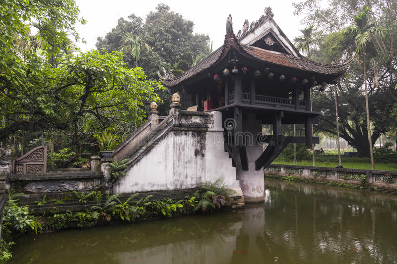 Classic chinese summer house stock images