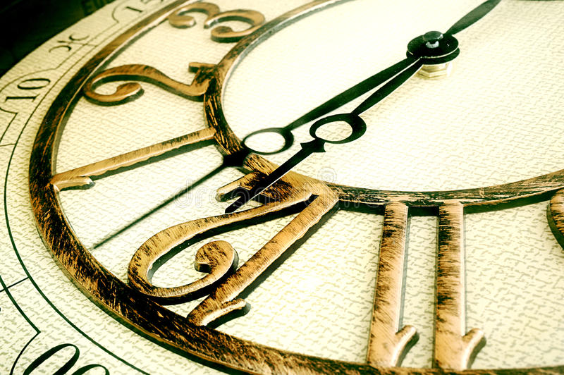 Download Classic clock stock image. Image of measure, action, numbers - 26354947