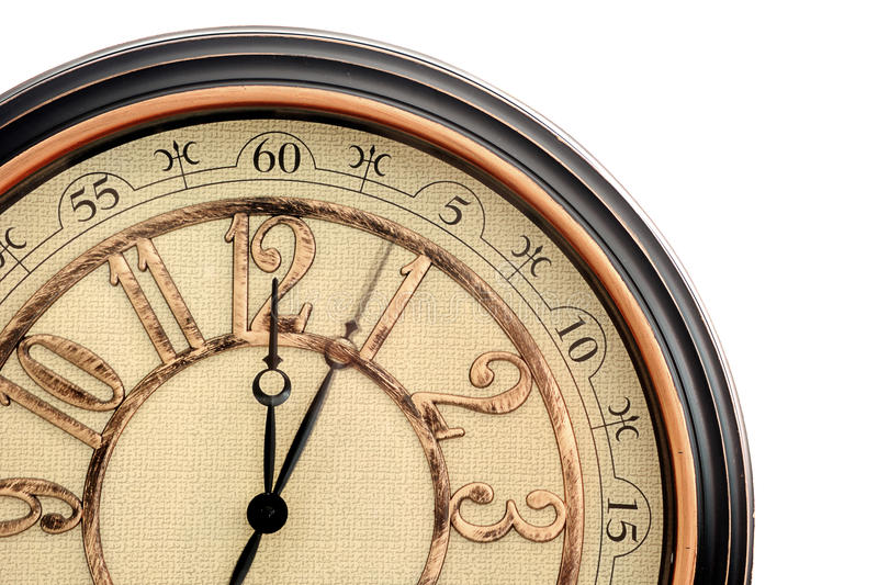 Download Classic clock stock image. Image of minute, moment, hour - 26354977