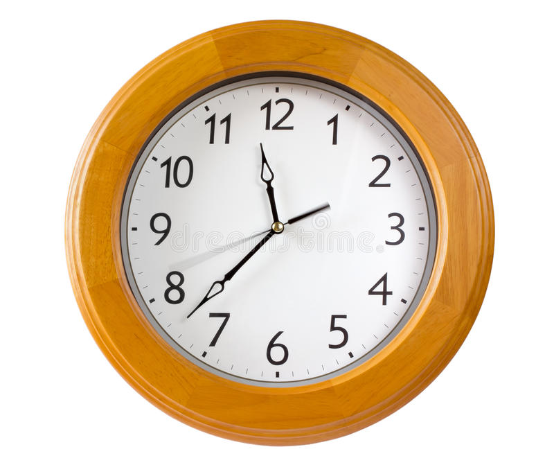 Download Classic Clock stock image. Image of minute, wall, deadline - 26542527