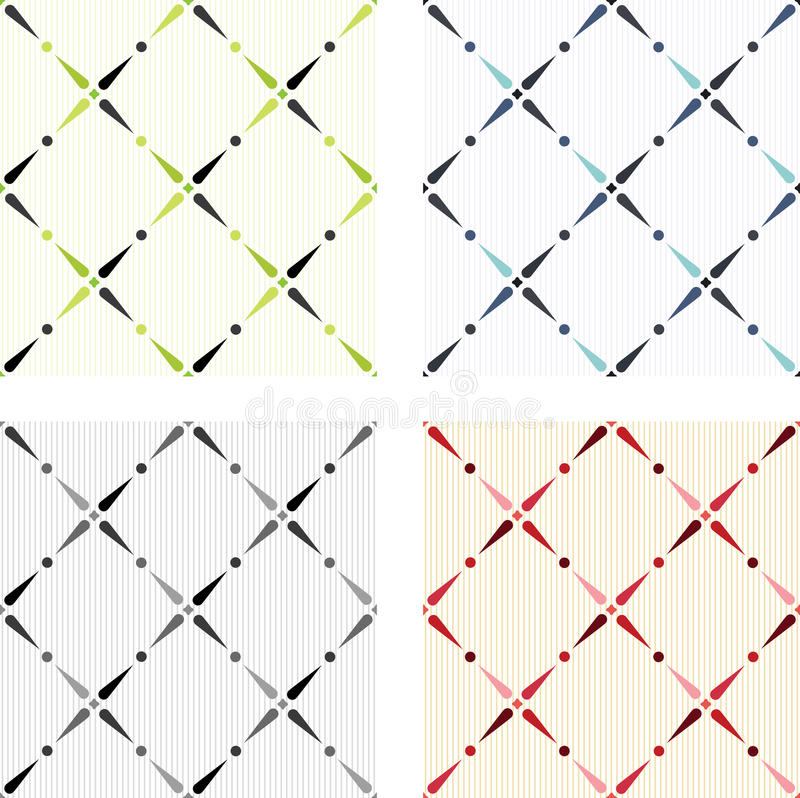 Download Classic Colored Seamless Textures Stock Vector - Image: 26002481