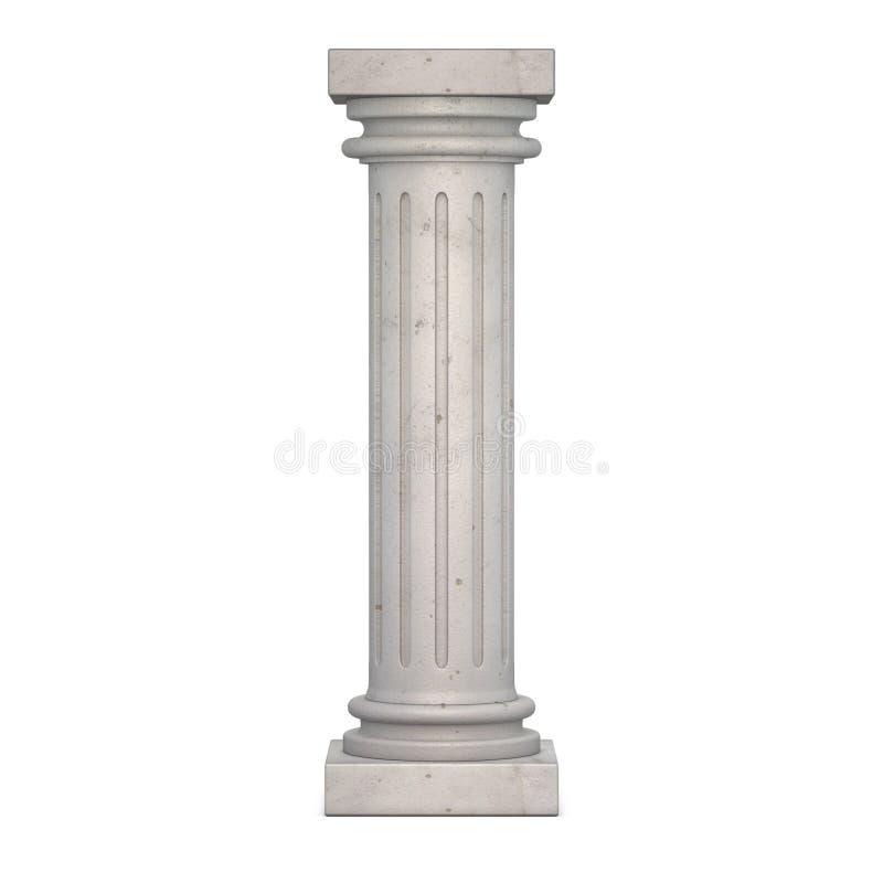 Download Classic Column stock illustration. Illustration of antiquities - 26447376