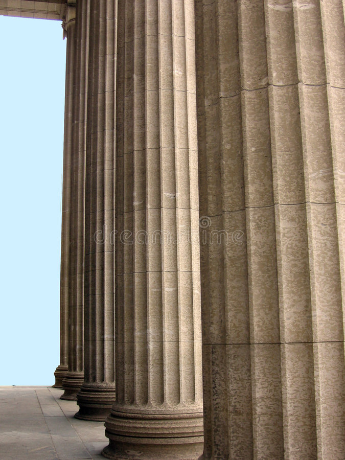 Classic Columns royalty free stock photos