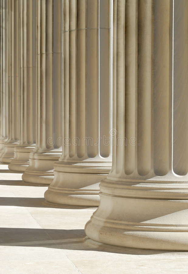 Download Classic Columns Background Stock Photos - Image: 4453923