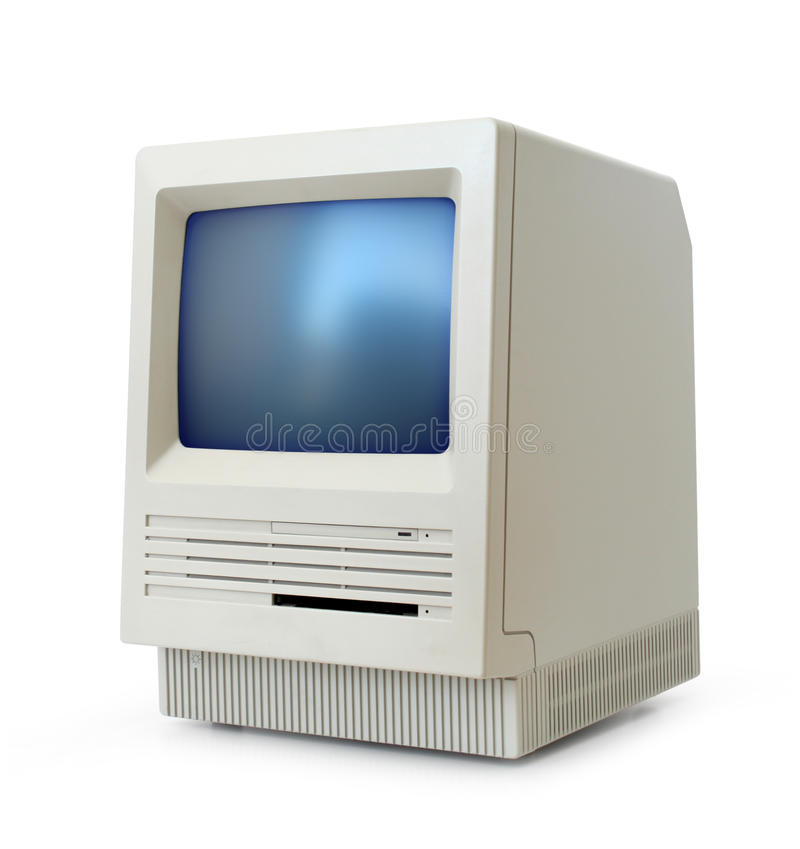 Download Classic computer stock photo. Image of classic, vintage - 16014880