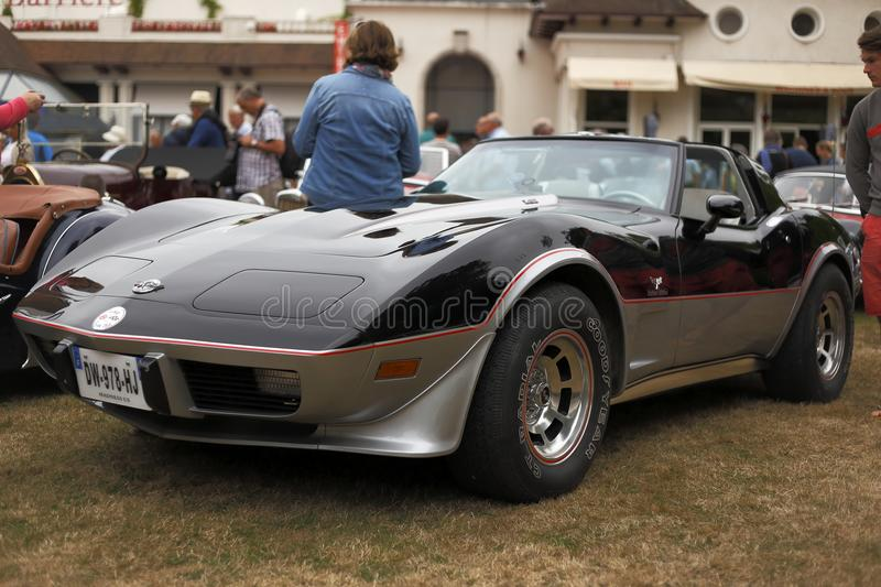 Special limited edition Chevrolet Corvette Stingray 1978 royalty free stock photos