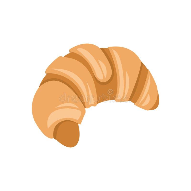 Classic Croissant Bread Illustration vector illustration