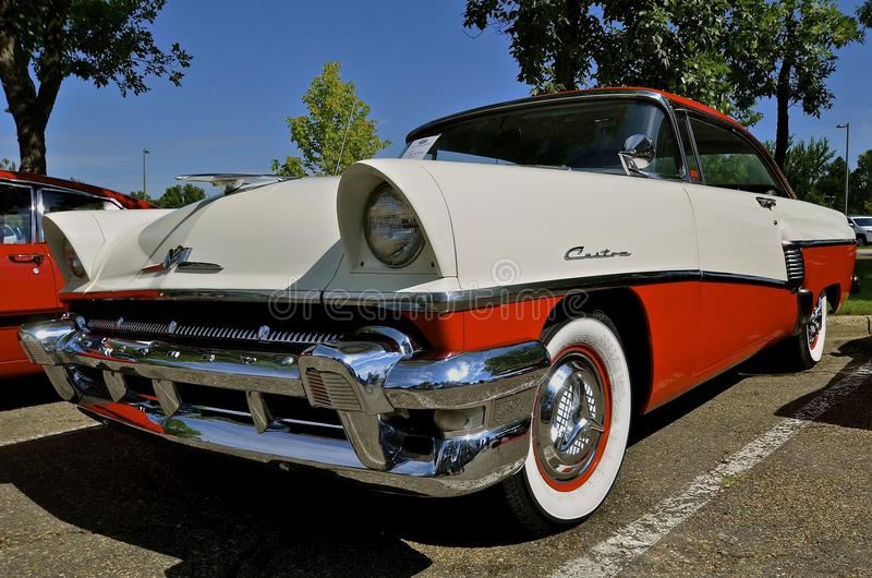 1956 Classic Crown Victoria Ford royalty free stock photography