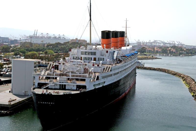 Classic Cruise Ship stock photos