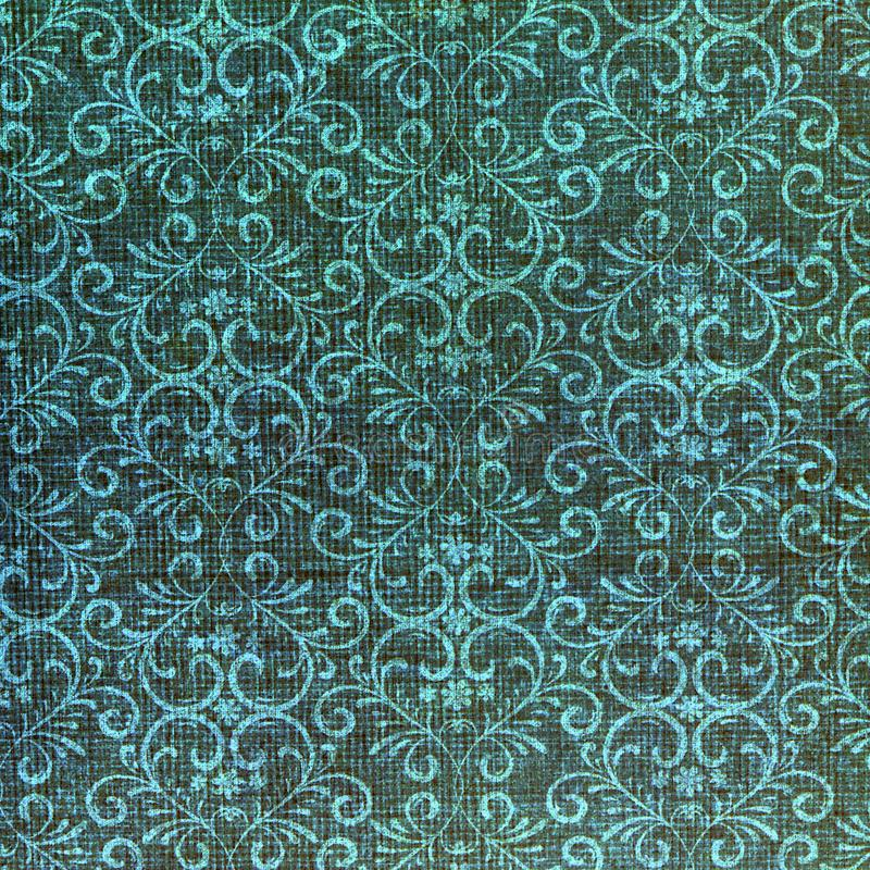 Classic damask patterned background. stock photography