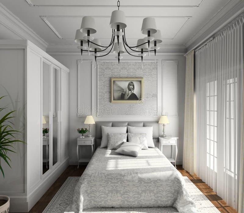 Classic Design Of Interior Stock Photos