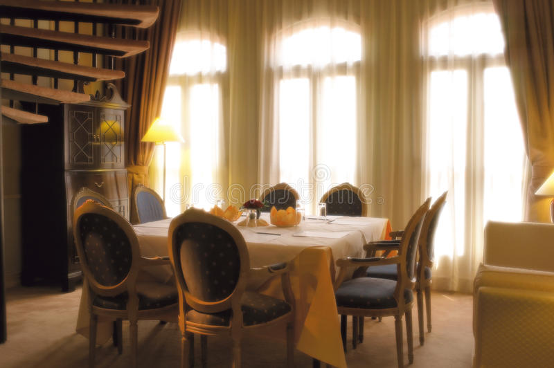 Download Classic dining area stock image. Image of style, indoor - 17935347