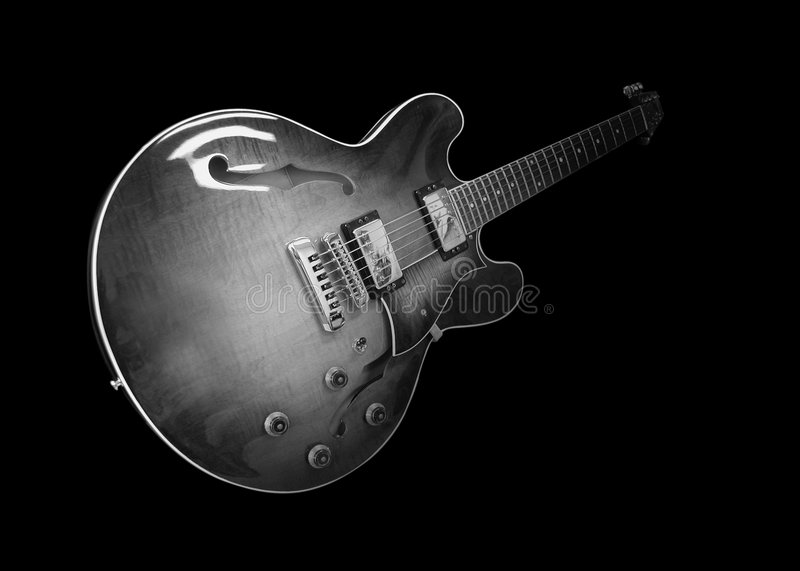 Classic Electric Guitar royalty free stock images