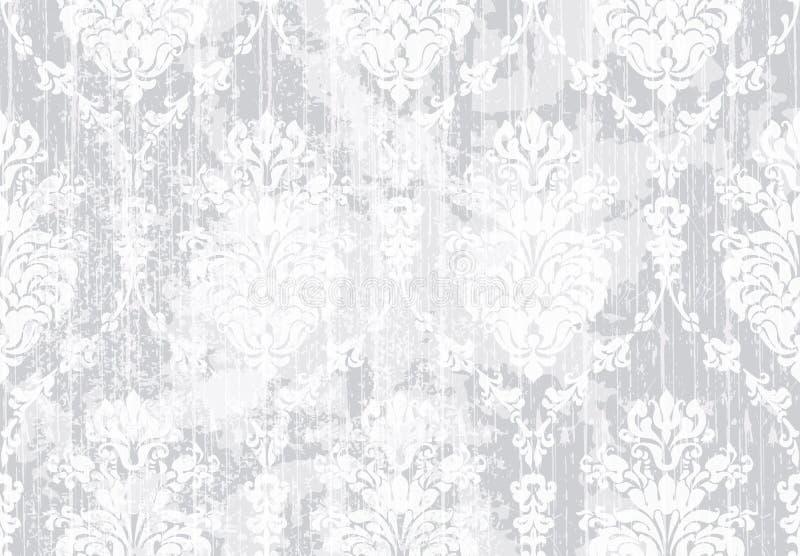 Classic elegant ornament pattern watercolor vector. delicate color textures materials vector illustration
