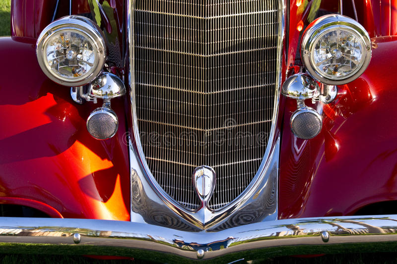 Download The Classic Era stock image. Image of motor, headlight - 24160605