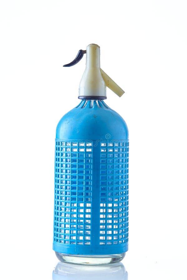 A classic European siphon bottle stock photography