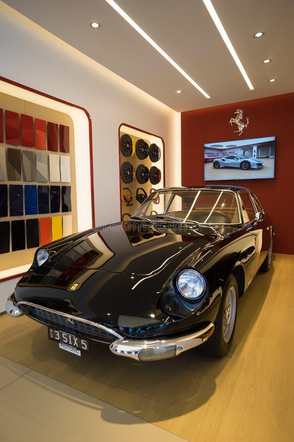 Classic Ferrari 365 stock photo