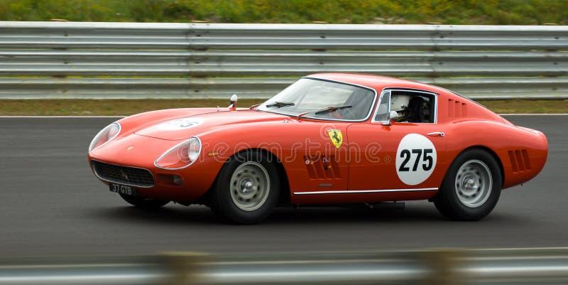 Classic Ferrari sports racing car stock photography