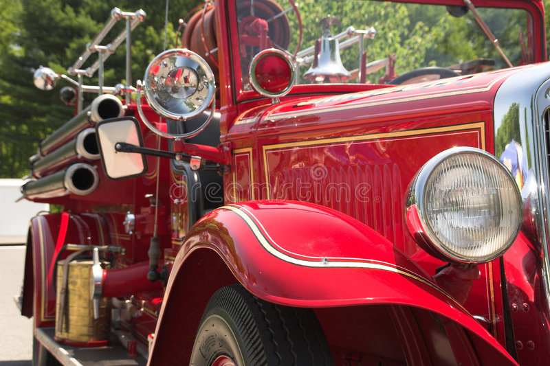 Classic Fire Engine royalty free stock photo