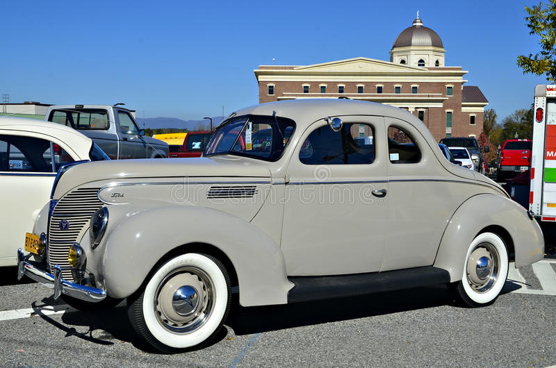 Classic Ford on Display stock photography