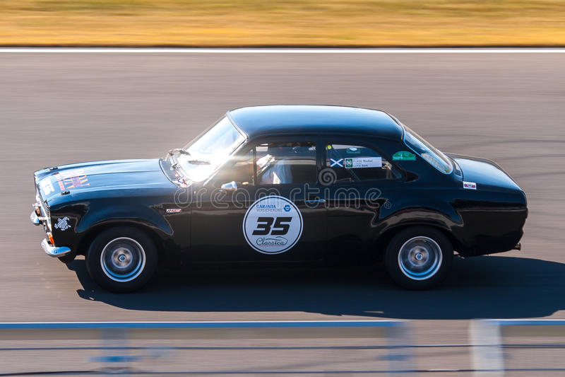 Classic Ford Escort royalty free stock photos