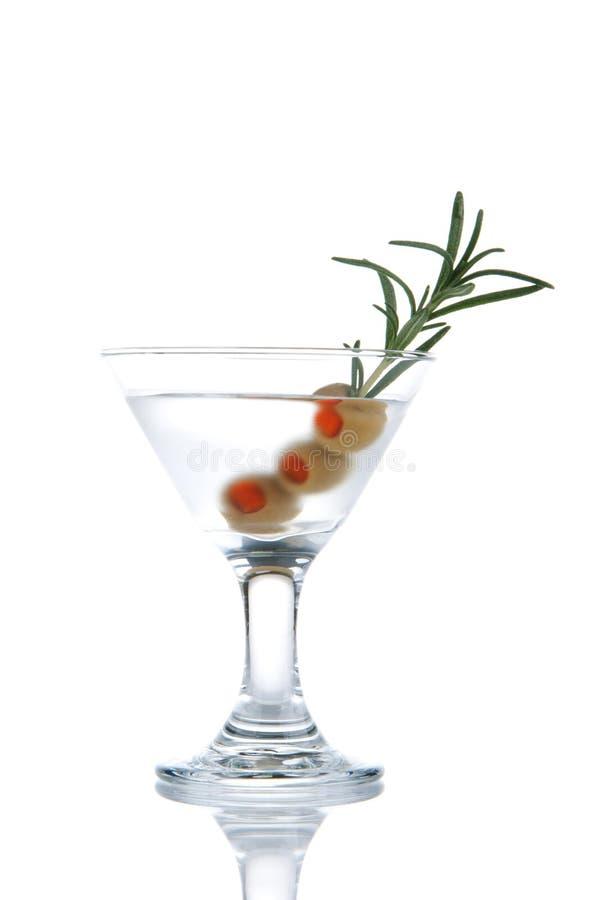 Classic gin martini cocktail