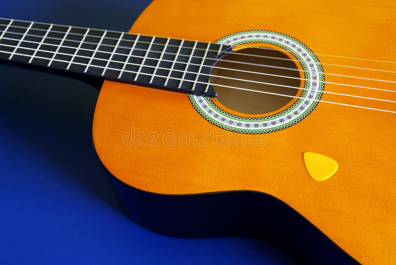 Download Classic Guitar stock image. Image of chord, hole, closeup - 18132825