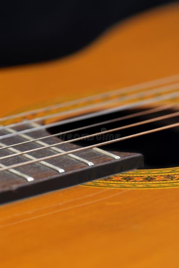 Download Classic Guitar (Spanish), Black Background. Stock Image - Image: 22739779