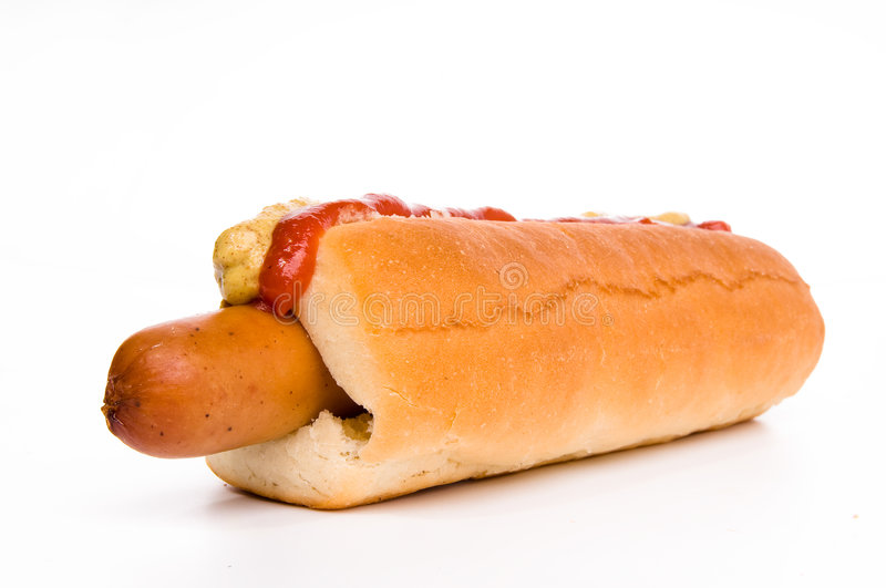 Download Classic Hot-dog With Ketchup Stock Image - Image: 8262359