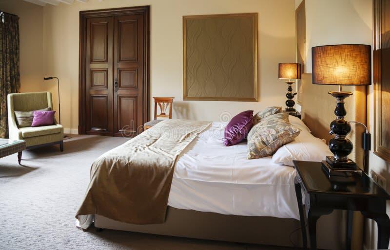 Classic hotel room royalty free stock photo