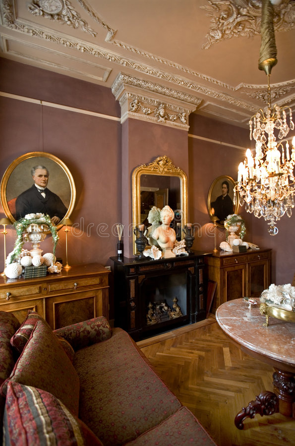 Classic interior stock photos