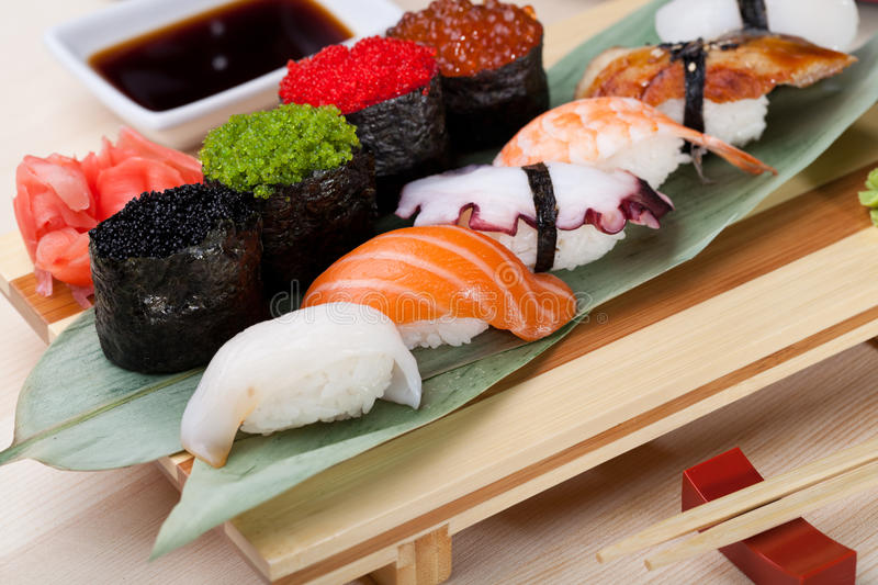 Classic japanese food royalty free stock photo