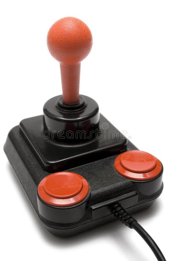 Classic Joystick (Front Side View) royalty free stock image