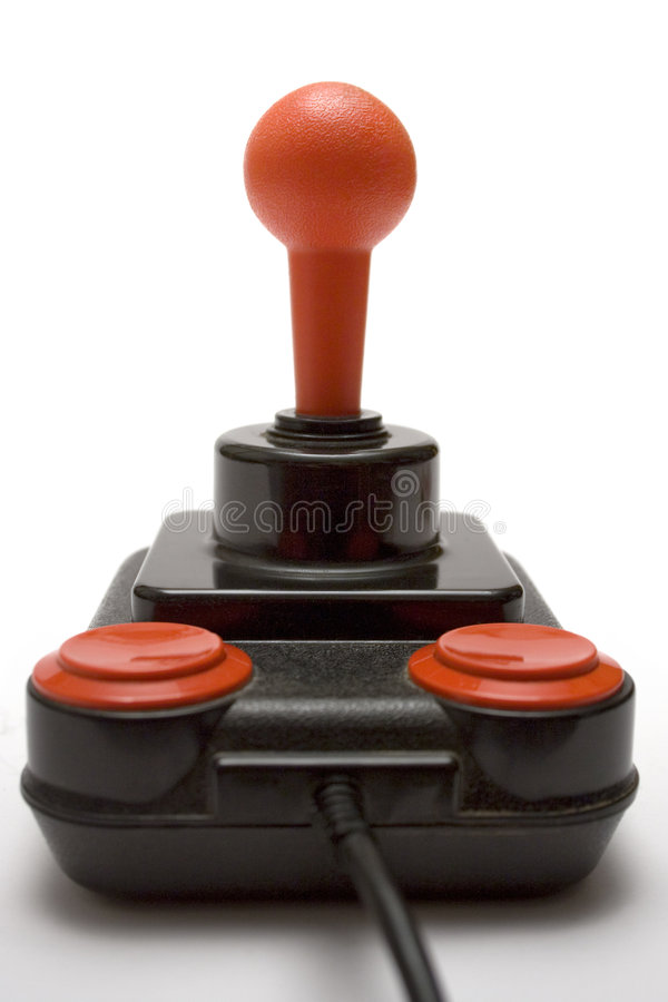 Download Classic Joystick (Front View) Stock Photo - Image: 592494