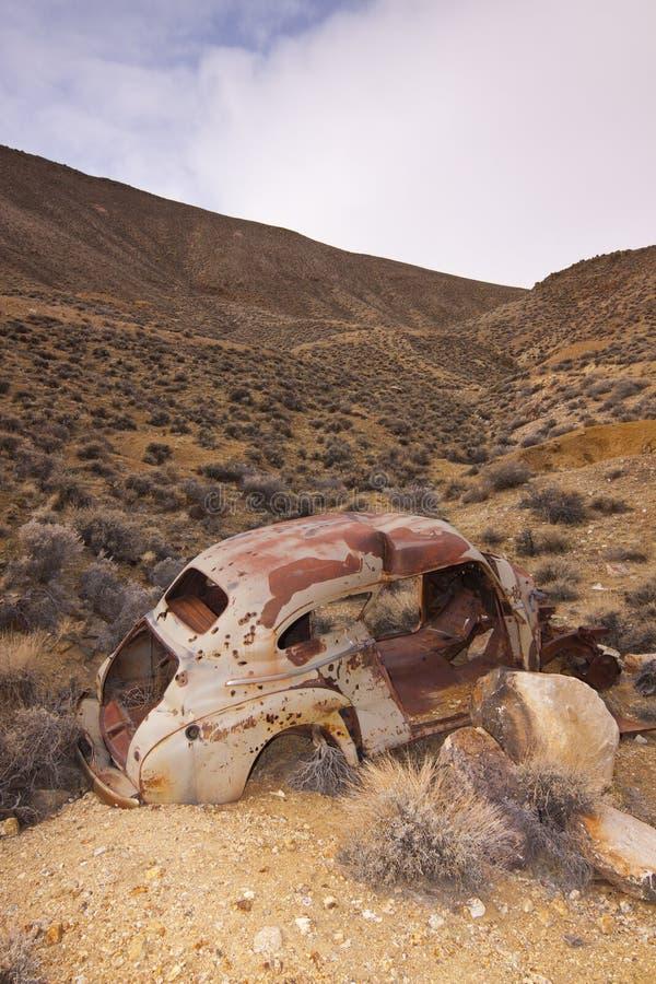 Download Classic Junker Car stock photo. Image of junkyard, disrepair - 26071498