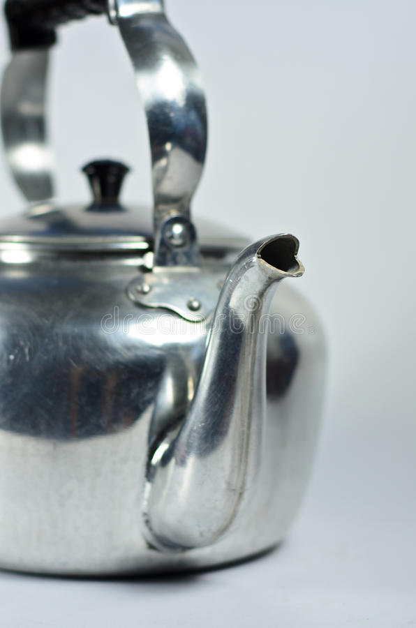 Download Classic kettle stock photo. Image of iron, metal, single - 31056592